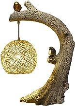 LED-nachtlampje, Natuurlijk Harsmateriaal, Dimbaar, Gezonde Oogbescherming, Plug-in, Dimmerschakelaar, Decoratieve Tafella...