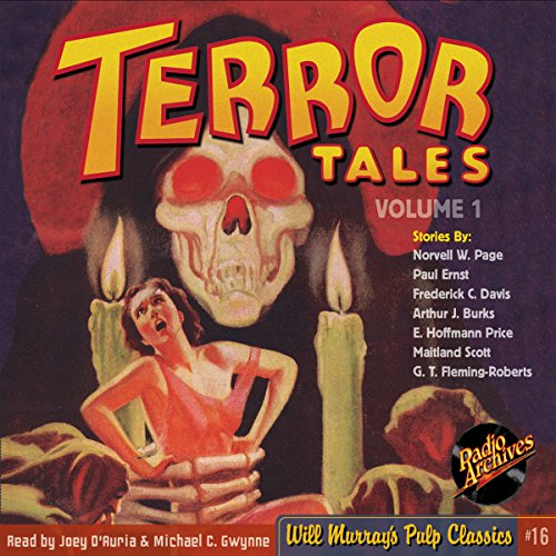 Terror Tales, Volume 1 audiobook cover art