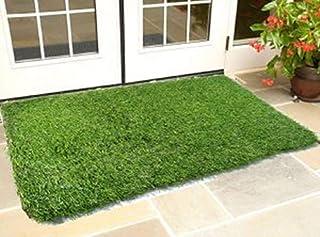 CHETANYA High Density Artificial Grass Carpet Mat for Balcony, Lawn, Floor Or Doormat, Artificial Grass (2 x 3 Feet)