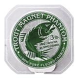 Trout Magnet Phantom 100% Fluorocarbon Fishing Leader Line, 50M (2lb,...