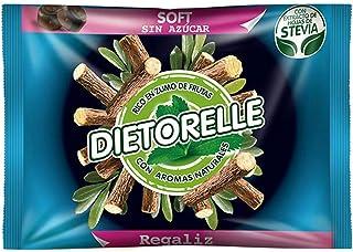 Dietorelle regaliz blando stevia 1x800 g