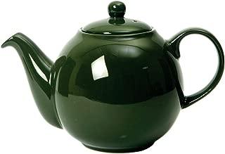 London Pottery Globe Teapot, Green, 2 Cup, Closed Box