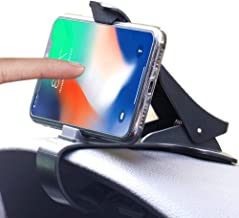 Car Phone Holder, Non-Slip Dashboard Cell Phone Holder HUD Car Mount for iPhoneX/8/8 Plus, Samsung, Huawei and More 4 to 6.5 inch Smartphones