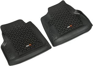 Rugged Ridge All-Terrain 12920.11 Black Front Row Floor Liner For Select Jeep Wrangler Models