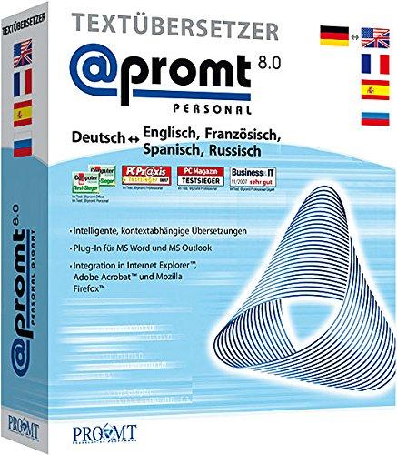 @promt personal 8.5 Gigant inkl. PROMT Mobile 7.0 für Windows Mobile