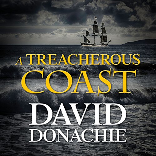 A Treacherous Coast audiobook cover art