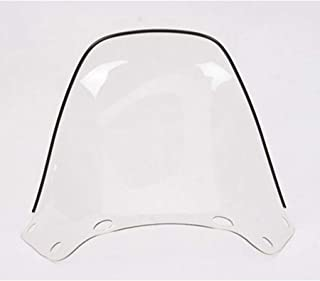 Windshield - High - 13in. - Clear For 1989 Yamaha EX570 Exciter Snowmobile