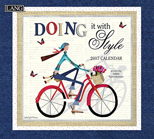 Lang 2017 Doing It with Style Wall Calendar, 13.375 x 24 inches (17991001980)