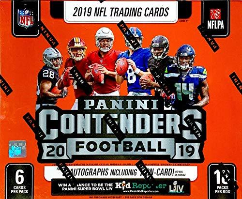 2019 Panini Contenders NFL Football HOBBY box (18 pks/bx)