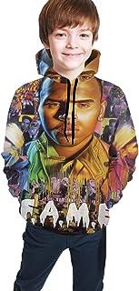 NOT Chris Brown F.A.M.E. Youth Hoodie Pullover Sweatshirt Teenager Boys Girls Sweatshirts Gift
