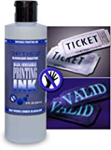 Opticz Industrial Invisible Blue UV Blacklight Reactive Ink (8 Ounce Bottle)