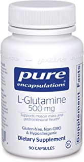 Pure Encapsulations l-Glutamine 500 mg | Supplement for Immune and Digestive Support, Gut Health and Lining...