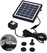 1.5W Miniature Brushless Solar Water Pump Fountain Pond Pool Rockery Water Garden Aquarium Submersible Water Pumps with Solar Panel