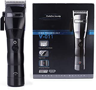 Electric Hair Clipper for Men, Stainless Steel Cutter Head, Strong Power, LED Display Light, Suitable For Hairdresser, Sal...