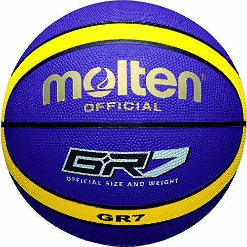 Balón Molten Baloncesto BGR-VY Morado/Amarillo-7