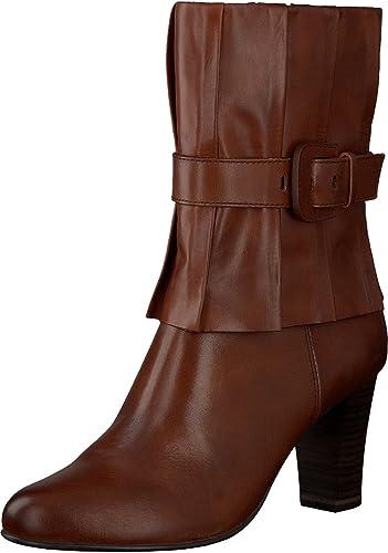 Caprice 9-25331-29 femme femme bottes cuir petrol  vente discount en ligne