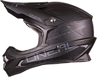 O'NEAL 3 Series Flat Motocross Enduro MTB Helm schwarz 2018 Oneal: Größe: XL (61 62cm)
