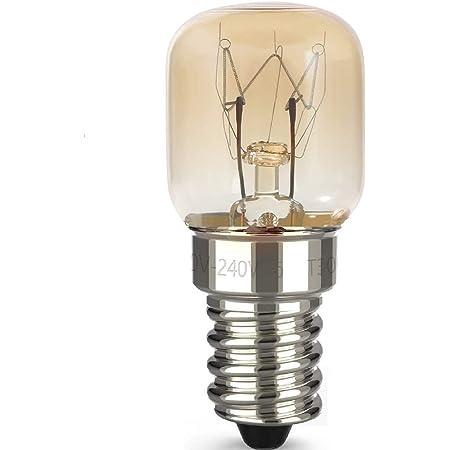 UNIVERSAL 2 Pack 15W Fridge Freezer Oven Appliance Light Bulb 240V SES E14 Lamp