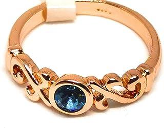 خاتم نسائي مطلي بالذهب مقاس 7 أمريكي مطلي بالذهب مقاس 7، خاتم نسائي مطلي بالذهب