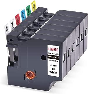 3 Lemero Beschriftungsband Farbbband Kompatibel Tze-231 Schriftband Etikettenban