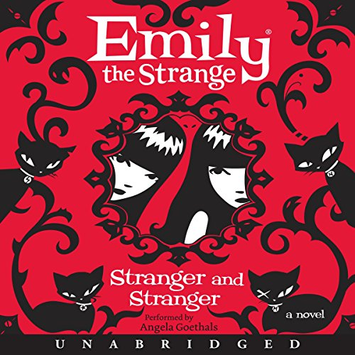 Emily the Strange: Stranger and Stranger audiobook cover art