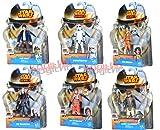Hasbro Star Wars Rebels A3857 - Figuras de Stormtrooper/The Inquisitor/Ezra Bridger/Luke Skywalker/Lando Calrissian/Han Solo (6 unidades)