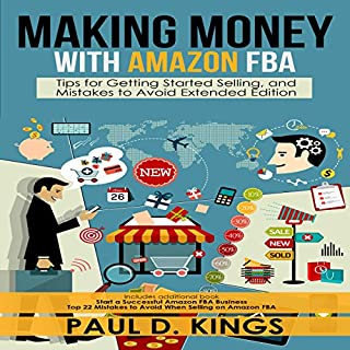 Making Money with Amazon FBA cover art