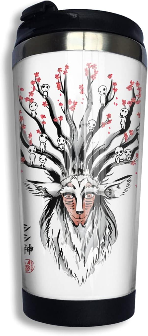 Princess Arlington Mall Mononoke Anime Coffee Cup 3d specialty shop Print Mug Funny Co Thermos