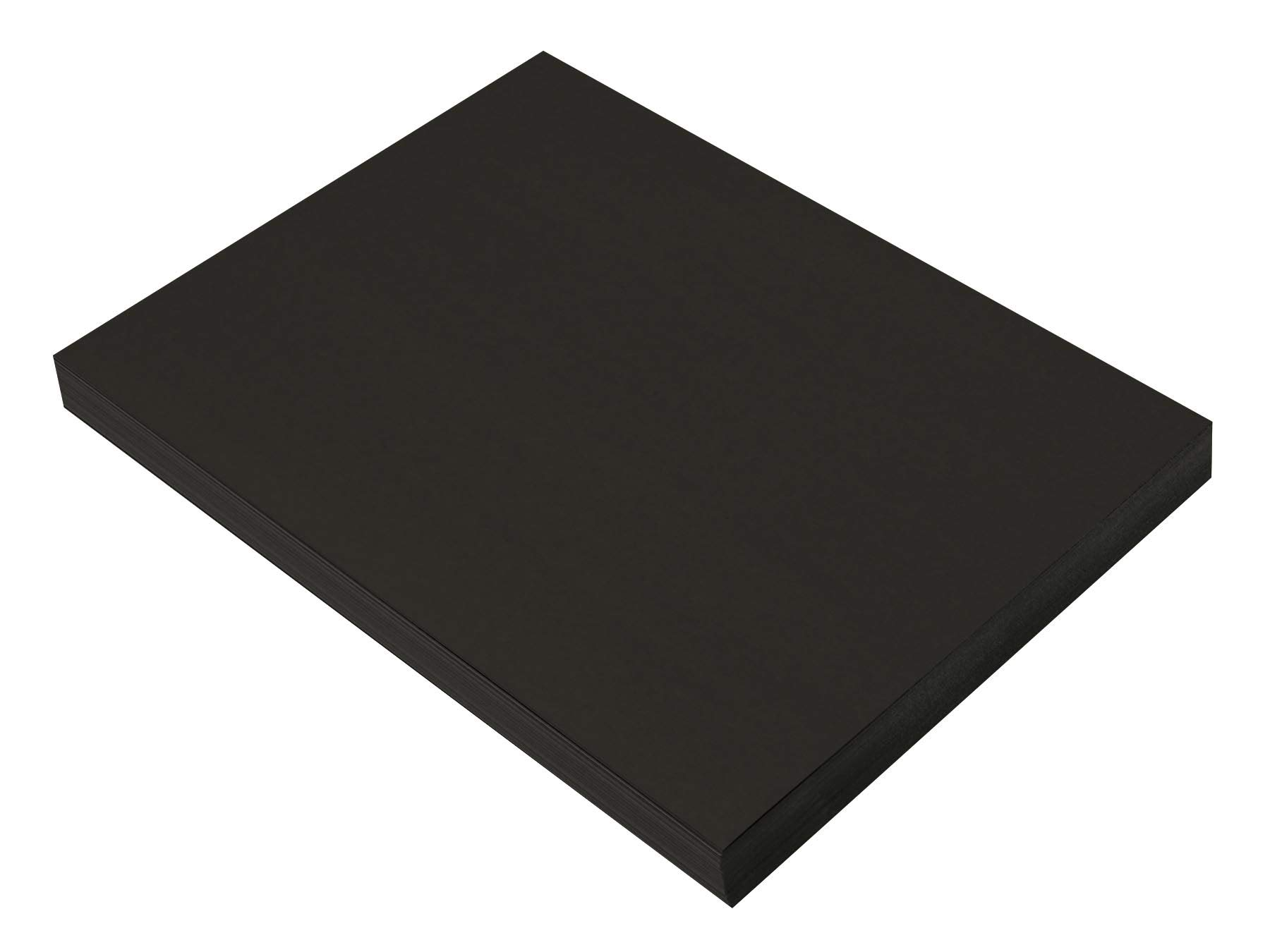 SunWorks Heavyweight Construction Paper, 9 x 12 Inches, Black, 100 Sheets