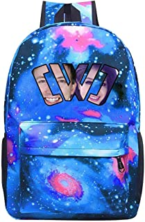 Galaxy School Bags Couple_CWC Casual Rucksack Backpack Waterproof For Kids Teens