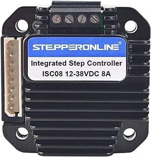 STEPPERONLINE Integrated Stepper Motor Controller 3-8A 12-40VDC for NEMA 23,24,34 Stepper Motor