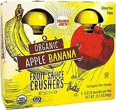 Trader Joe's Apple Banana Fruit Sauce Crushers