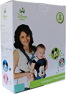 Disney Baby 01A24371MMB Canguro para Bebé, diseño Mickey para niño