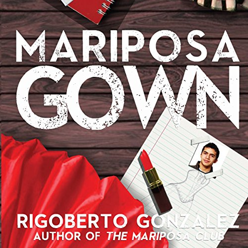 Mariposa Gown audiobook cover art