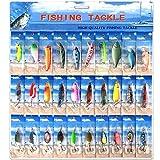 30 cucharas de pesca de trucha, percha para pesca de pesca de pesca de pesca de pesca de pesca de...
