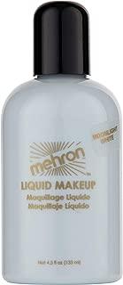 Mehron Makeup Liquid Face and Body Paint (4.5 oz) (MOONLIGHT WHITE)