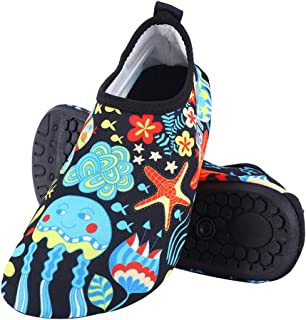 Yuanhua 1 Swimming Shoes, 1 Pair Outdoor Beach Swimming Quick-Dry Aqua Yoga Socks Slip-on Swim Shoes for Kids Children