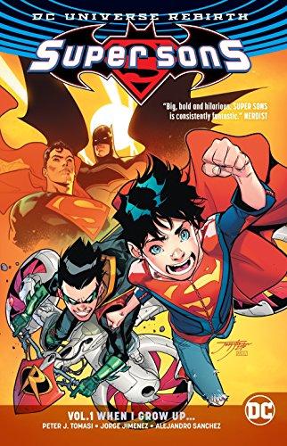 Super Sons Vol. 1 (Rebirth) (Dc Rebirth)