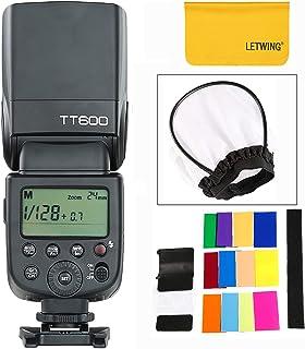 GODOX TT600 フラッシュ ストロボ-Canon Nikon Pentax Olympus DSLR カメラ対応