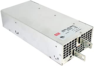 """Mean Well SE-1000-12 Enclosed Switching AC-to-DC Power Supply, Single Output, 12V, 83.3A, 999.6W, 2.5"""" H x 5"""" W x 10.9"""" L"""