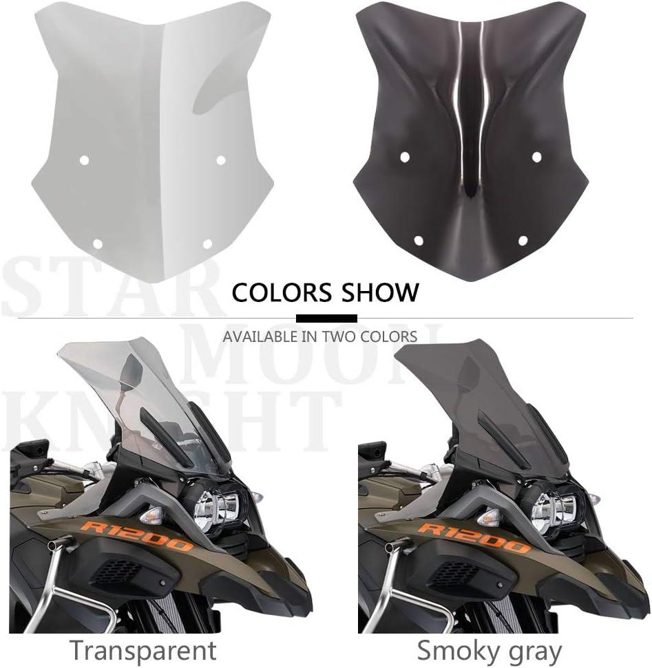 Color : 1set A Motorrad-Windschutzscheibe Windschutzscheibe Deflector Schutz Windschutz for BMW R 1200 GS R1200 GS Adventure ADV LC 2013-2017 2016 2015 Windschutzscheibe