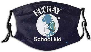 Promini 'I Am A School' barn personlig munhylsa återanvändbar munskydd