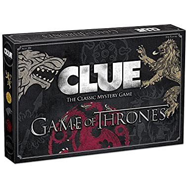 USAopoly Clue Game Thrones Board Game | Official Game Thrones Merchandise | Based on The Popular TV Show on HBO Game Thrones | Themed Clue Mystery Game | A Great Game Throne Gift