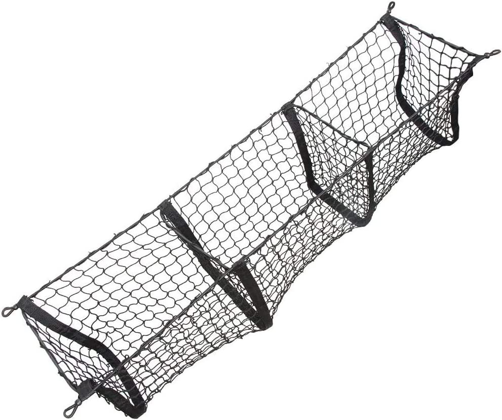 Cargo Nets Durable Sales results No. 1 Long-Lasting Three Polyester-Built Mail order cheap Pocket M