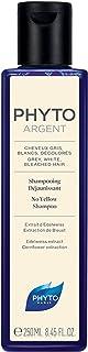 Phyto Phytoargent Shampoo Anti Ingiallimento per Capelli Grigi, Bianchi, Decolorati, Neutralizza i Riflessi Gialli, Format...
