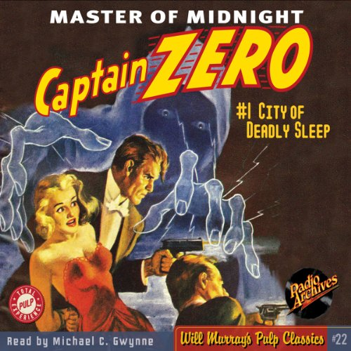 Captain Zero #1 November 1949 audiobook cover art