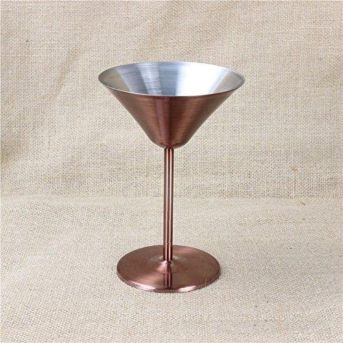 JARONG Vin Rouge Tasse Tasse Tasse Cuivre Bronze Coupe De Champagne