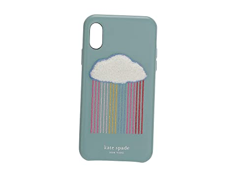 Kate Spade New York Rainbow Cloud Patch Phone Case For iPhone XS