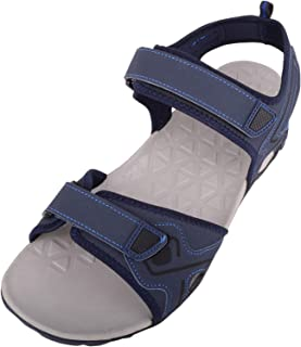 ABSOLUTE FOOTWEAR Mens Summer/Holiday/Beach Sandals/Shoes with Touch Fastening