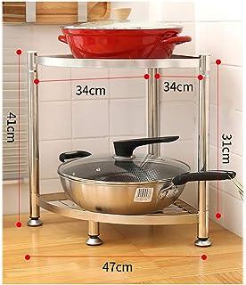WSCC Grille de Four à Micro-Ondes Micro-Ondes, Cuisine Racks Racks Rack de Stockage Triangle (Taille : 41cm × 47cm)